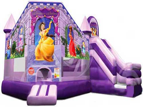 Bounce House With Slide Combo For Princess