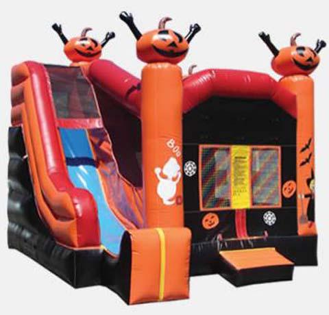 bounce house slide combo