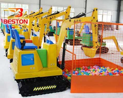 Kids Best Love Mini Excavator Ride