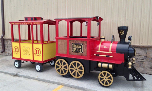 Trackless Train In Stock