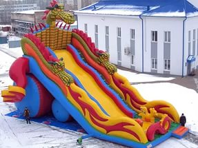 inflatable slide buy for park
