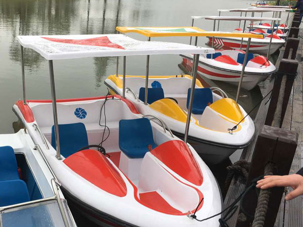 water park paddle boats rides for sale
