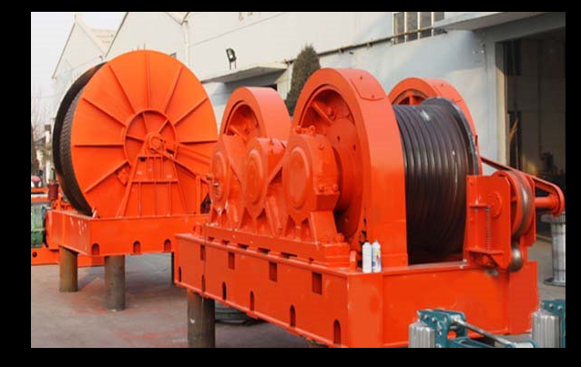 rope winch