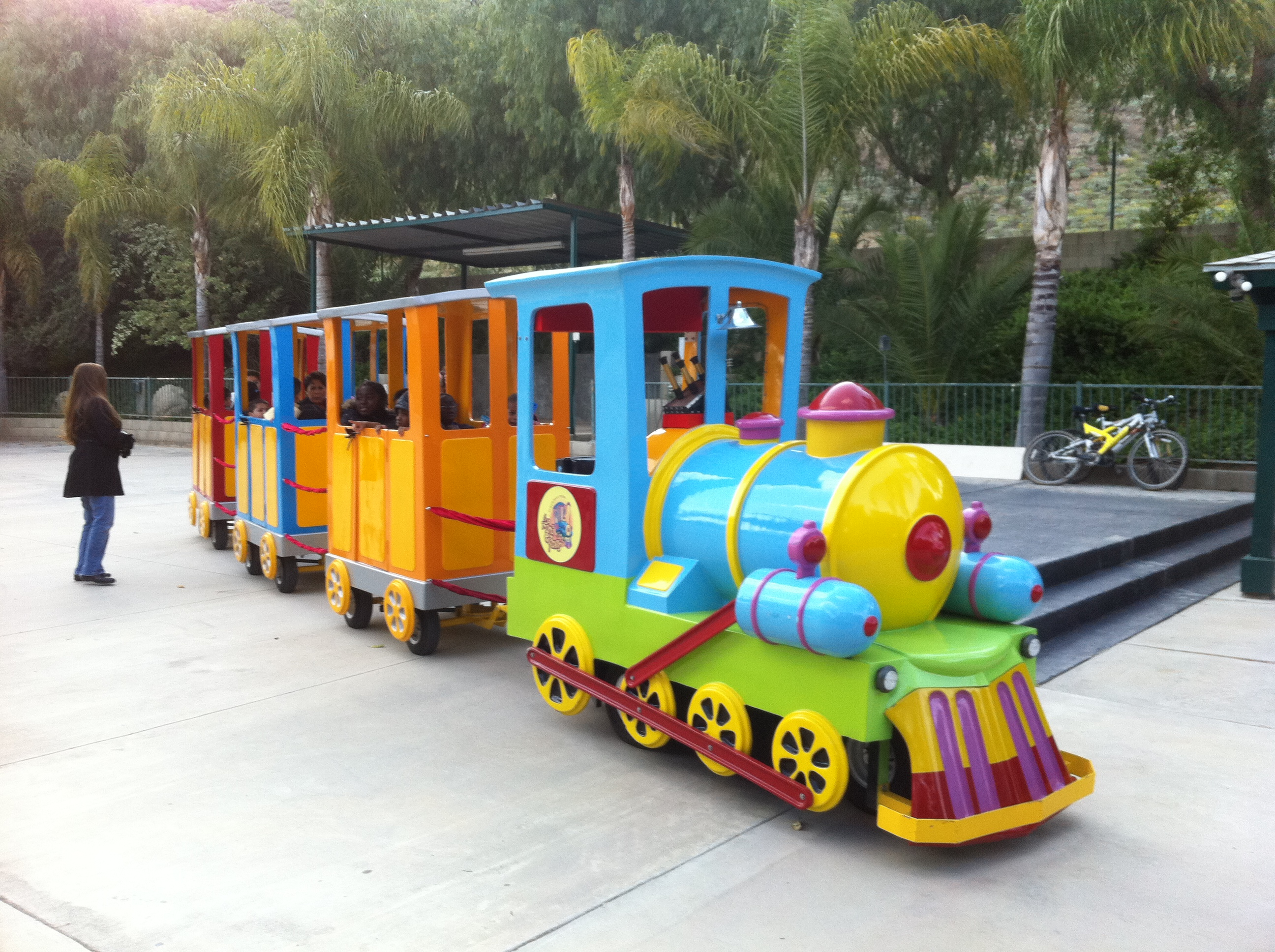 Trackless Train for Train-Themed for Birthday Parties