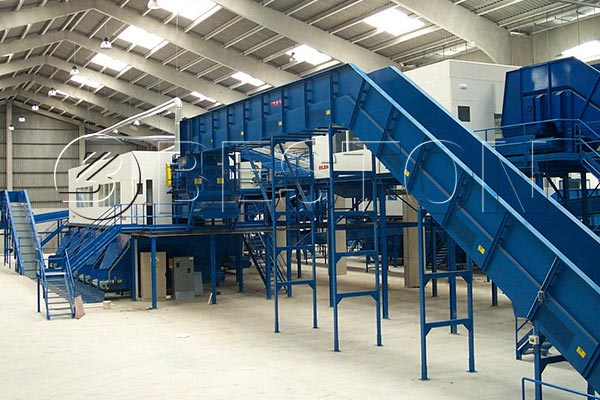 Large Scale Waste To Energy Sorting Plant