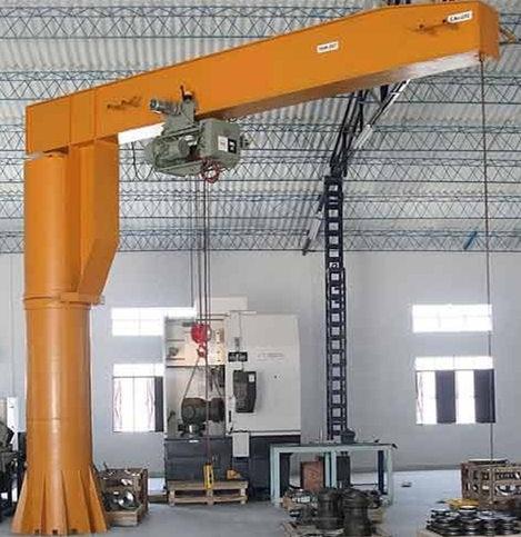 Pillar mounted jib crane for sale