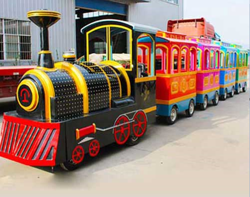 amusement park train rides manufacturer in China