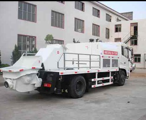 Hot sale concrete mixing pumps