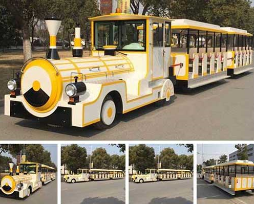 quality trackless train rides for malls