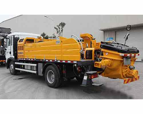 truck mounted concrete mixing pump for sale