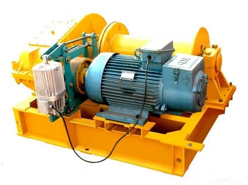 Professional Manufacturer of Three Phase Electric Winch