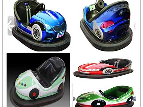 Buy an attraction bumper cars on the battery