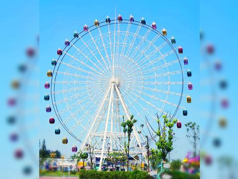 Amusement Park Ferris wheel Ride 75m