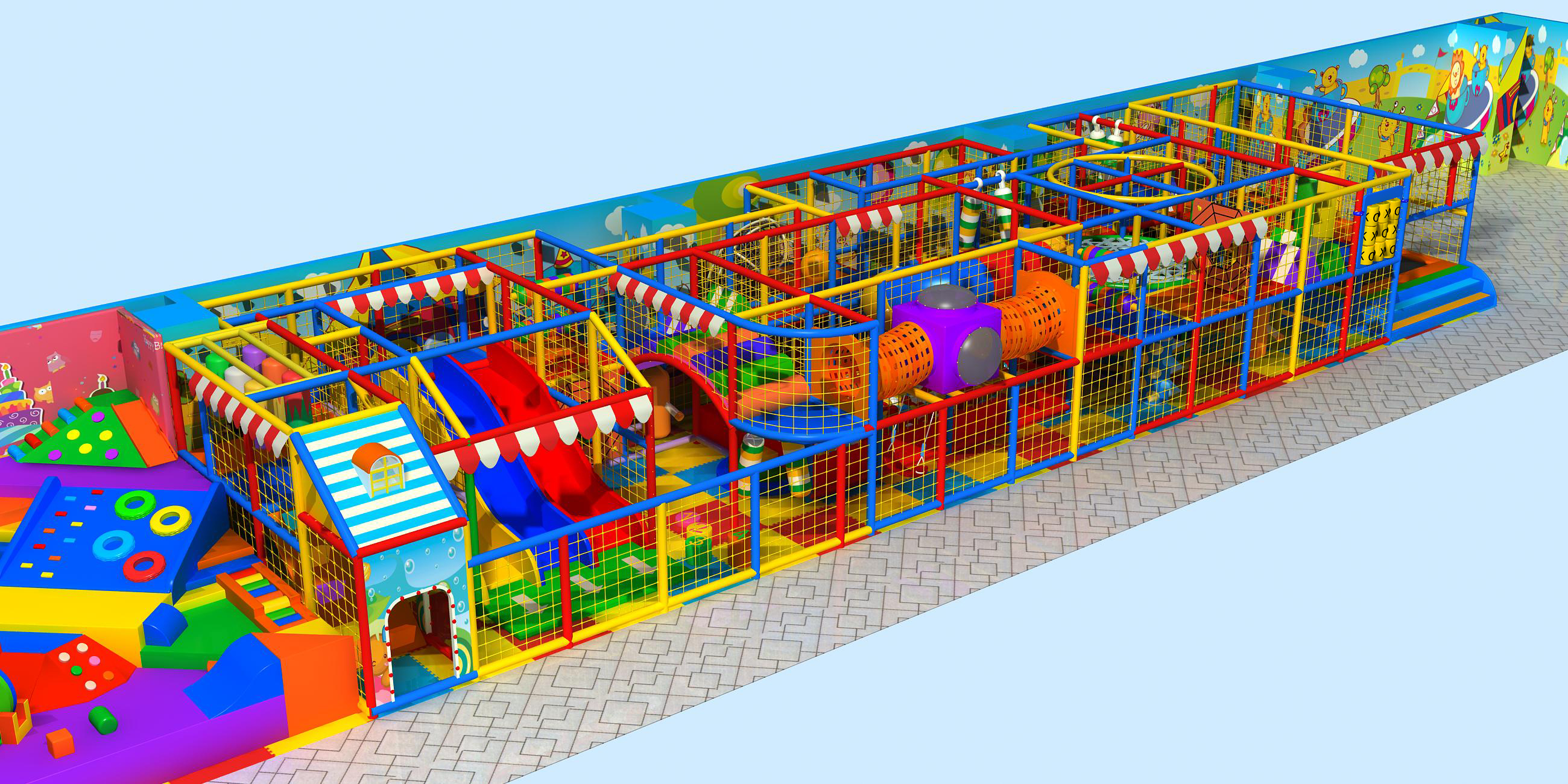 Beston Indoor Playground Equipment With Cheap Price