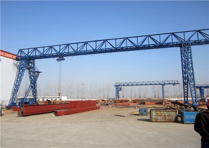 Why choose 20 ton single girder gantry crane