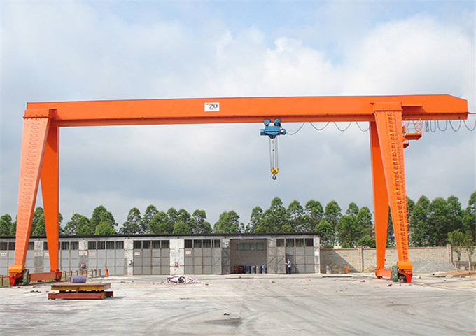 High quality 20 ton single girder gantry crane