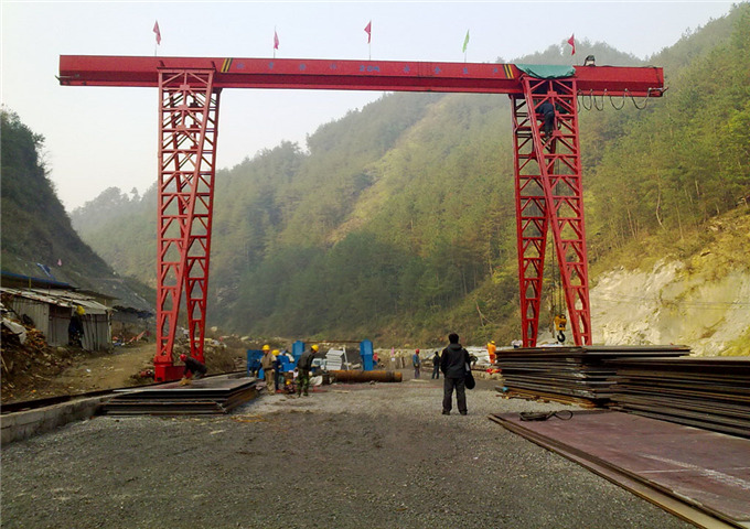 Why choose gantry crane 20 ton