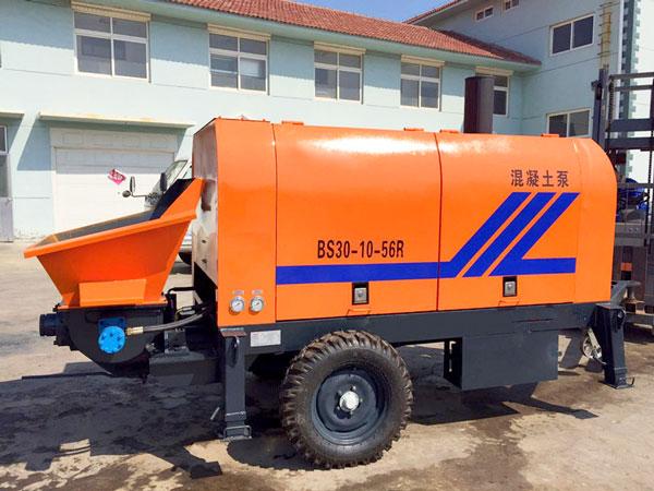 HBT30 small concrete pump
