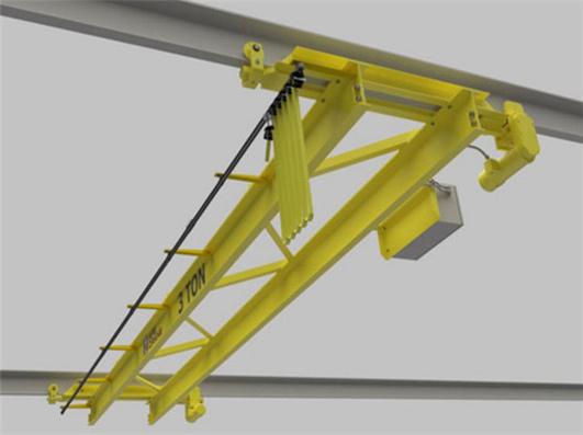 double girder underhung overhead crane