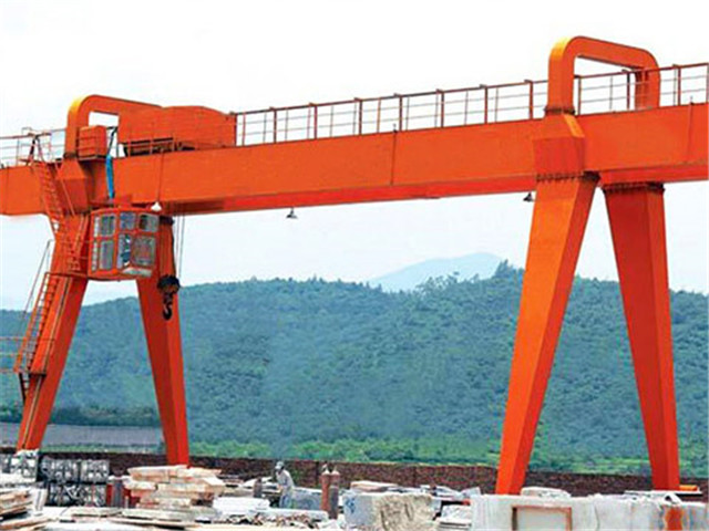 Cantilever double girder gantry crane