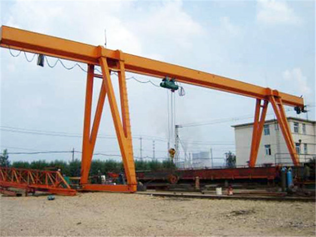 Cantilever single girder gantry crane