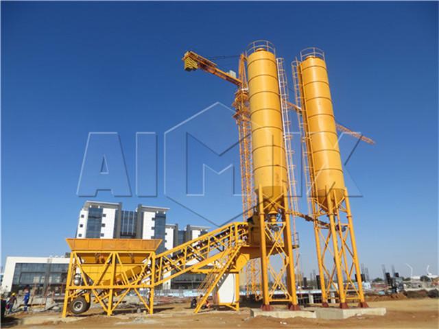 Mobile Concrete Mixing Plant Price
